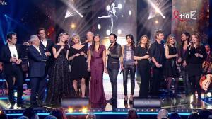 Farida Foodista, Camille Lou, Valérie Durier, Maya Lauqué, Zaho et Laetitia Barlerin dans la Télé Chante pour le Sidaction - 28/03/15 - 07