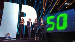 Faustine Bollaert et Karine Lemarchand dans M6 Fete les 30 Ans du Top 50 - 22/04/15 - 02