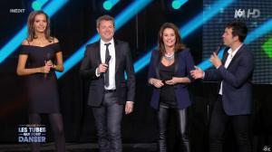 Faustine Bollaert et Karine Lemarchand dans M6 Fete les 30 Ans du Top 50 - 22/04/15 - 03