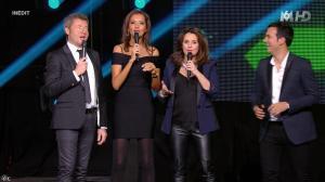 Faustine Bollaert et Karine Lemarchand dans M6 Fete les 30 Ans du Top 50 - 22/04/15 - 23