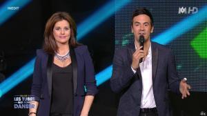 Faustine Bollaert dans M6 Fête les 30 Ans du Top 50 - 22/04/15 - 04
