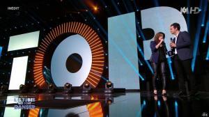 Faustine Bollaert dans M6 Fete les 30 Ans du Top 50 - 22/04/15 - 05