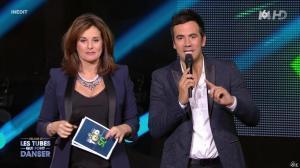Faustine Bollaert dans M6 Fete les 30 Ans du Top 50 - 29/04/15 - 10