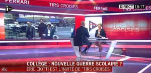 Laurence Ferrari dans Tirs Croisés - 12/05/15 - 10