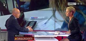 Laurence Ferrari dans Tirs Croisés - 12/05/15 - 11