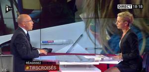 Laurence Ferrari dans Tirs Croisés - 12/05/15 - 13