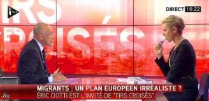 Laurence Ferrari dans Tirs Croisés - 12/05/15 - 16