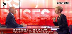 Laurence Ferrari dans Tirs Croisés - 12/05/15 - 17