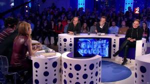 Léa Salamé et Laurence Haim dans On n'est pas Couché - 20/12/14 - 50
