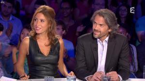 Léa Salamé dans On n'est pas Couché - 13/09/14 - 01