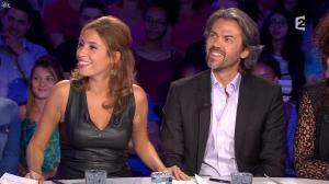 Léa Salamé dans On n'est pas Couché - 13/09/14 - 04