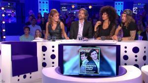 Léa Salamé dans On n'est pas Couché - 13/09/14 - 09