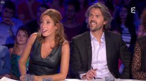 Léa Salamé dans On n'est pas Couché - 13/09/14 - 10