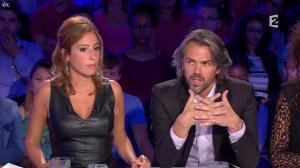 Léa Salamé dans On n'est pas Couché - 13/09/14 - 11