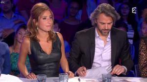Léa Salamé dans On n'est pas Couché - 13/09/14 - 16
