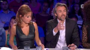 Léa Salamé dans On n'est pas Couché - 13/09/14 - 18