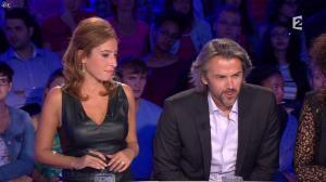Léa Salamé dans On n'est pas Couché - 13/09/14 - 22