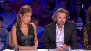 Léa Salamé dans On n'est pas Couché - 13/09/14 - 28