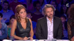 Léa Salamé dans On n'est pas Couché - 13/09/14 - 31