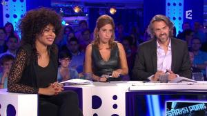 Léa Salamé dans On n'est pas Couché - 13/09/14 - 36