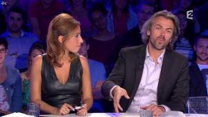 Léa Salamé dans On n'est pas Couché - 13/09/14 - 39