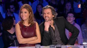 Léa Salamé dans On n'est pas Couché - 20/12/14 - 03