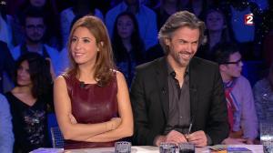 Léa Salamé dans On n'est pas Couché - 20/12/14 - 04