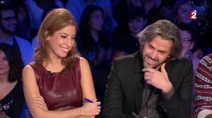 Léa Salamé dans On n'est pas Couché - 20/12/14 - 06
