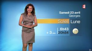 Anaïs Baydemir à la Météo de 20h - 22/04/16 - 02