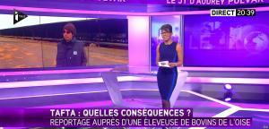 Audrey Pulvar dans i>Télé - 25/04/16 - 03