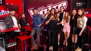 Karine Ferri dans The Voice - 23/04/16 - 01