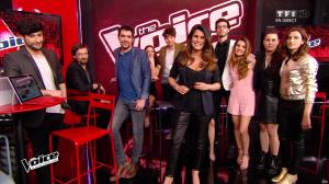 Karine Ferri dans The Voice - 23/04/16 - 02