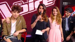 Karine Ferri dans The Voice - 23/04/16 - 03