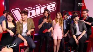 Karine Ferri dans The Voice - 23/04/16 - 04