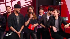 Karine Ferri dans The Voice - 23/04/16 - 05