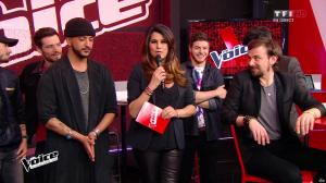 Karine Ferri dans The Voice - 23/04/16 - 06