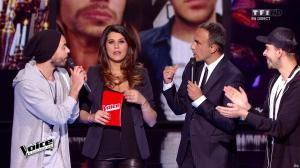 Karine Ferri dans The Voice - 23/04/16 - 08