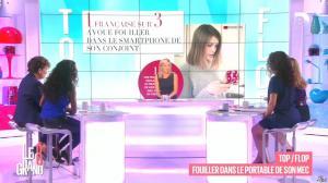 Laurence Ferrari, Hapsatou Sy, Aida Touihri et Elisabeth Bost dans le Grand 8 - 09/10/15 - 04