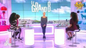 Laurence Ferrari, Hapsatou Sy, Aida Touihri et Elisabeth Bost dans le Grand 8 - 09/10/15 - 14