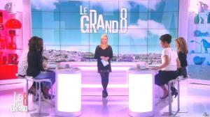 Laurence Ferrari, Hapsatou Sy, Aïda Touihri et Elisabeth Bost dans le Grand 8 - 19/02/16 - 05