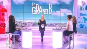 Laurence Ferrari, Hapsatou Sy, Aida Touihri et Elisabeth Bost dans le Grand 8 - 19/02/16 - 12