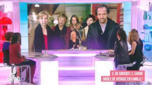 Laurence Ferrari, Hapsatou Sy, Aïda Touihri et Elisabeth Bost dans le Grand 8 - 22/01/16 - 06
