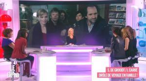Laurence Ferrari, Hapsatou Sy, Aïda Touihri et Elisabeth Bost dans le Grand 8 - 22/01/16 - 07