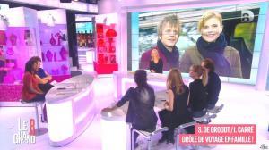Laurence Ferrari, Hapsatou Sy, Aïda Touihri et Elisabeth Bost dans le Grand 8 - 22/01/16 - 08