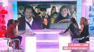 Laurence Ferrari, Hapsatou Sy, Aïda Touihri et Elisabeth Bost dans le Grand 8 - 22/01/16 - 12