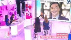 Laurence Ferrari, Hapsatou Sy, Aida Touihri et Elisabeth Bost dans le Grand 8 - 28/10/15 - 06