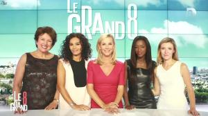 Laurence Ferrari, Hapsatou Sy et Aida Touihri dans le Grand 8 - 12/11/15 - 02