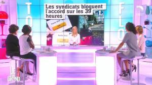 Laurence Ferrari, Hapsatou Sy et Aïda Touihri dans le Grand 8 - 16/09/15 - 12
