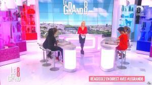 Laurence Ferrari, Hapsatou Sy et Aïda Touihri dans le Grand 8 - 21/01/16 - 03