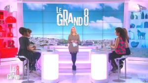 Laurence Ferrari et Hapsatou Sy dans le Grand 8 - 10/02/16 - 01